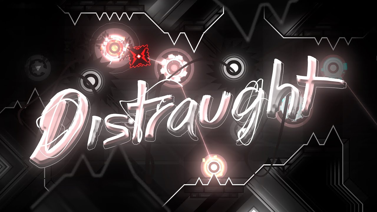 """Download 【4K】 """"Distraught"""" by alkali & more (Extreme Demon)   Geometry Dash 2.11"""
