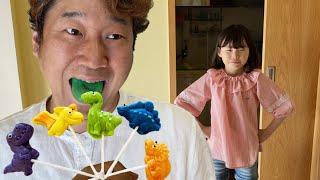 라임의 핑거패밀리 영어동요 Johny Johny Yes Papa Eating Lollipops | Finger Family Nursery Rhymes Song for kids