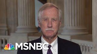 Senator Angus King: Hold One FBI Briefing, Not Two | Morning Joe | MSNBC
