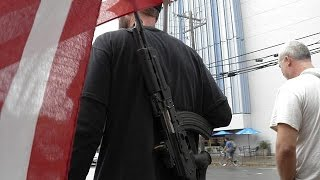 فيديو.. ولاية تكساس تسمح بحمل السلاح داخل الجامعات