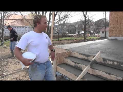 How To Build A House: Pouring The Porches Ep 38
