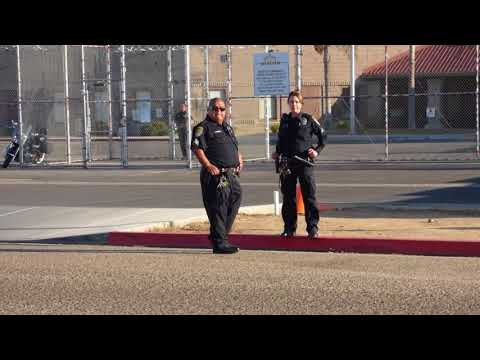 Shafter Correctional Facility: ( RUDE GUARD GETS LIFE LESSON )  COPS SHOW UP,  1st Amend Audit
