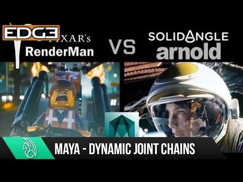 RenderMan vs Arnold in Maya comparison tutorial HD