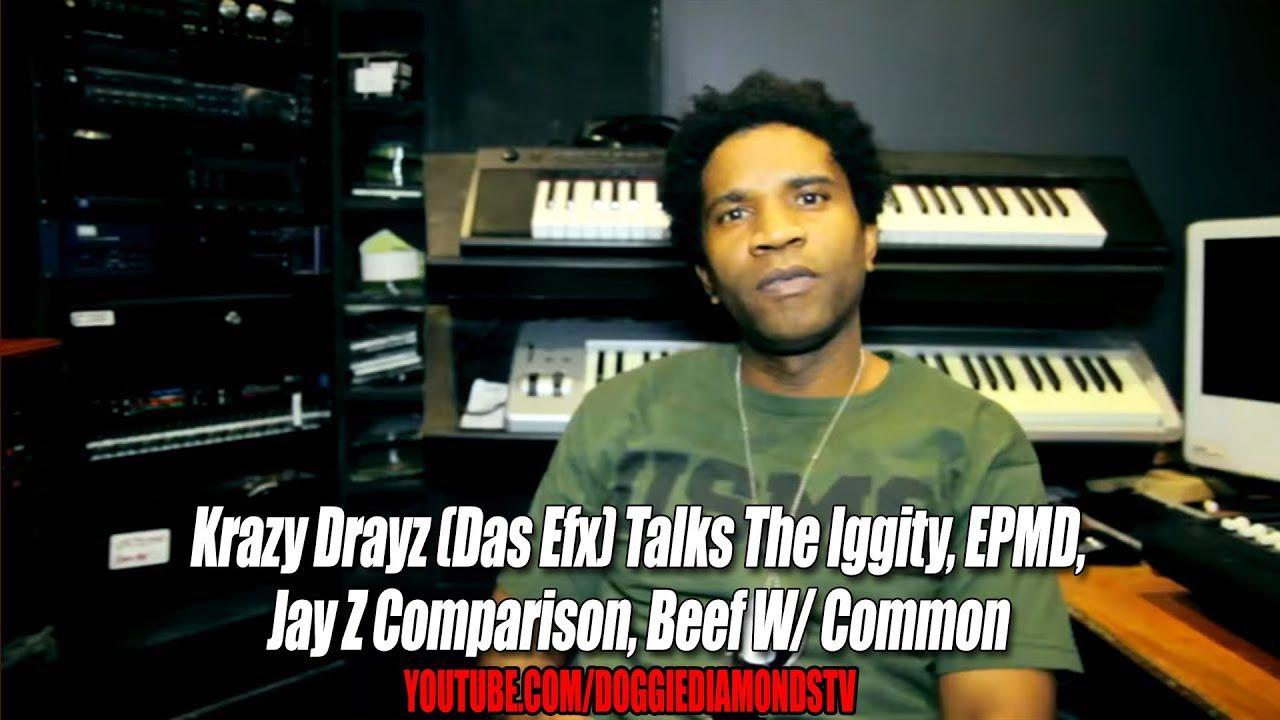 Hidden Jewels: Krazy Drayz Talks The Iggity, EPMD, Jay Z Comparison, Beef W/ Common (Episode 2)
