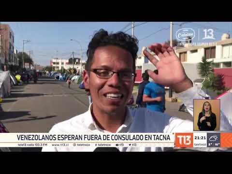 Venezolana sufrió aborto a la espera de visa en Tacna