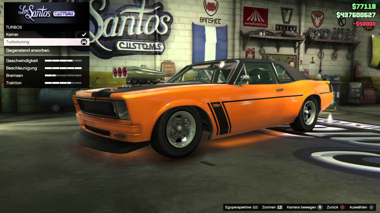 Grand Theft Auto V / Car tuning #3 Declasse Tampa