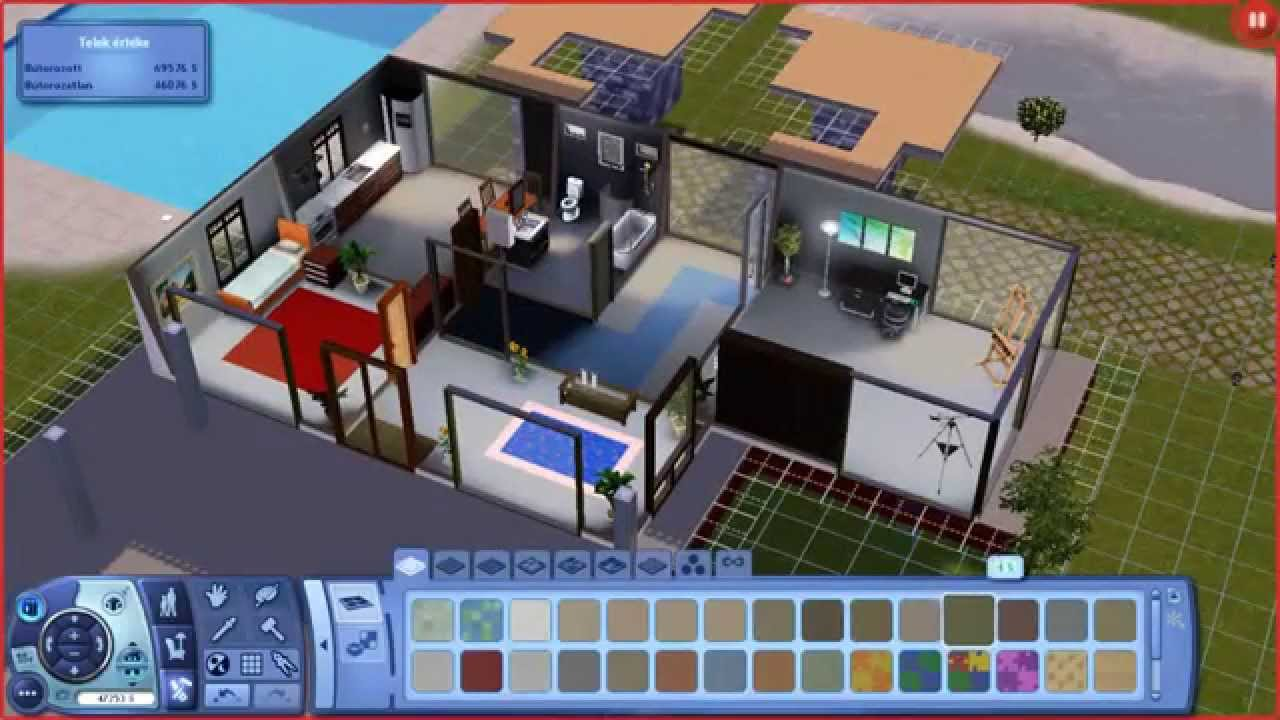 Sims 3 Compact Modern House YouTube
