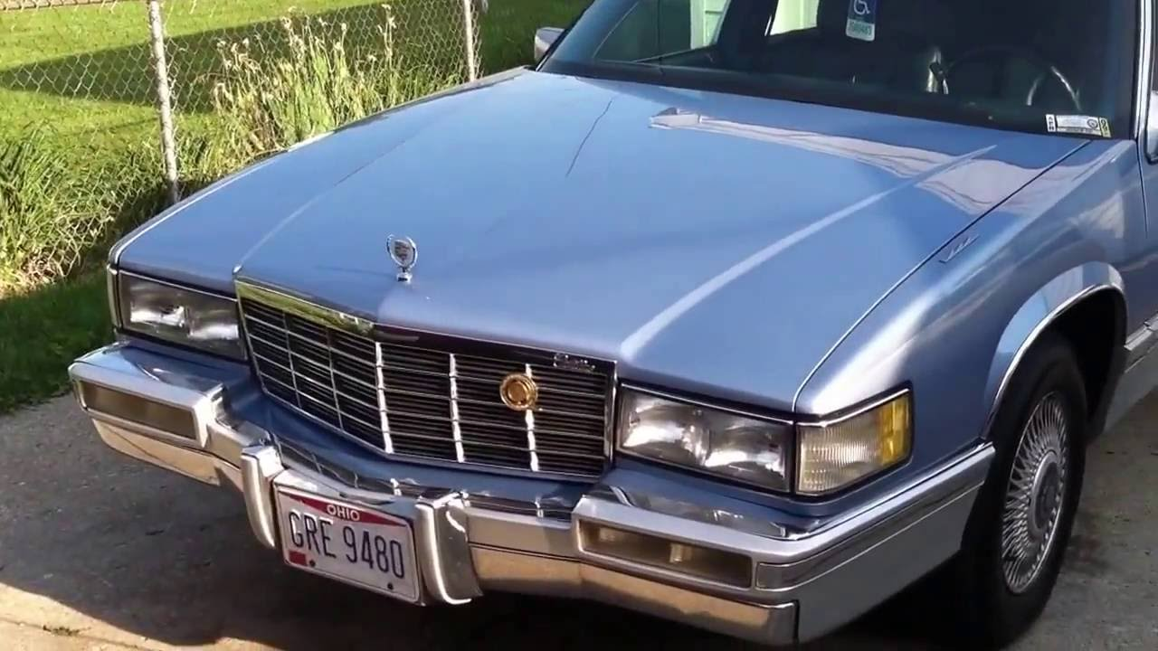 My 1992 Cadillac deville - YouTube