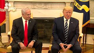 PM Netanyahu and US President Trump, From YouTubeVideos