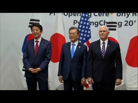 """Pyongyang canceló reunión con Pence """"a último minuto"""", dice EEUU"""