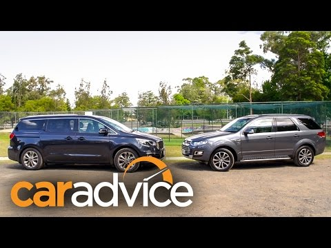 SUV or MPV - Kia Carnival v Ford Territory Review