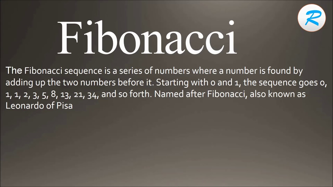 how to pronounce fibonacci