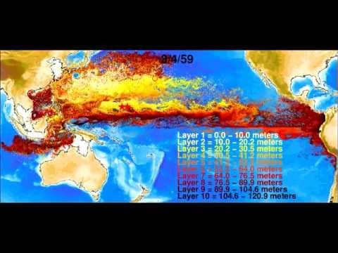 NUCLEAR BOMB FALLOUT - Bomb-produced radiocarbon in the western tropical Pacific Ocean