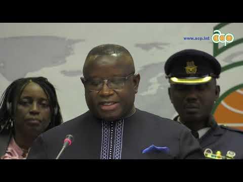 President of Sierra Leone visit to ACP House, 6 November 2018