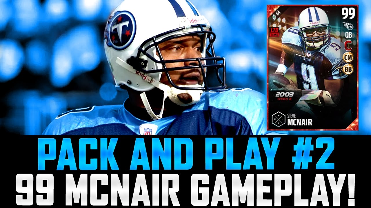 PACK AND PLAY #2 | 99 LIMITED EDITION STEVE MCNAIR SHINES IN DEBUT! | BIG  TIME UPGRADE!