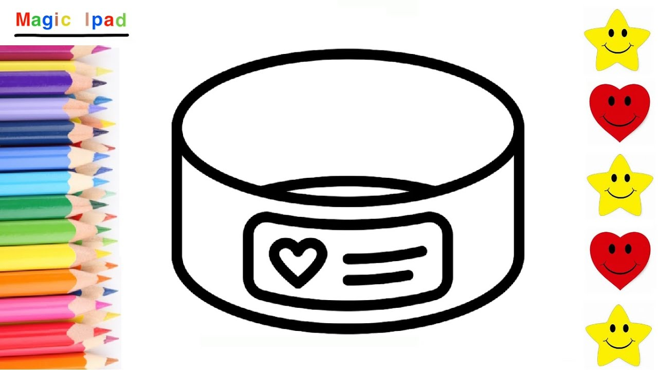 Como dibujar un BRAZALETE DE CORAZON | dibujos para niños 💓⭐ How to draw a HEART BRACELET | kids