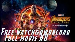 Free dwonload, AVENGGERS infinity wars, full movie,HD