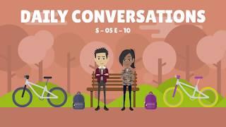 Learn English Conversation - 10 (Season - 05) | Daily English Conversations  | Fluent English