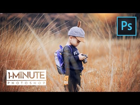 1-Minute Photoshop | Autumn Color Effect in Photoshop thumbnail