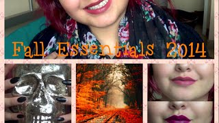 Fall Essentials & Favorites | 2014 Thumbnail