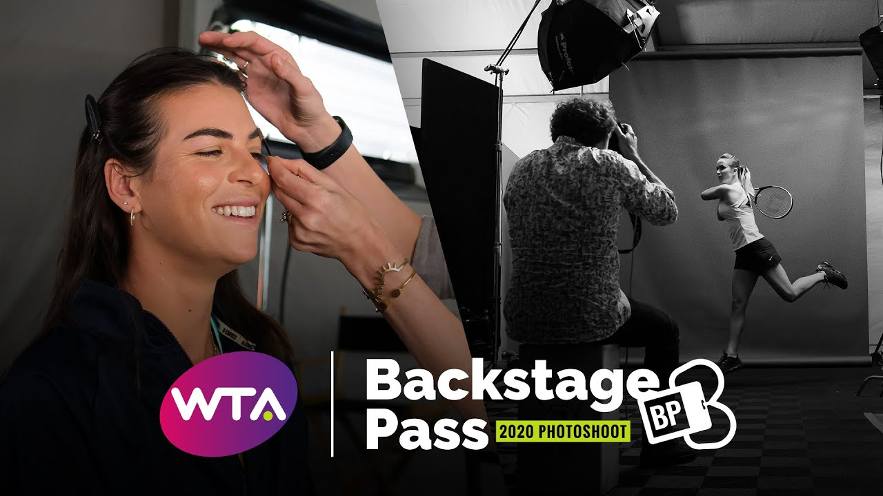 Backstage Pass: #FBF Behind the scenes of the Indian Wells 2020 Photoshoot