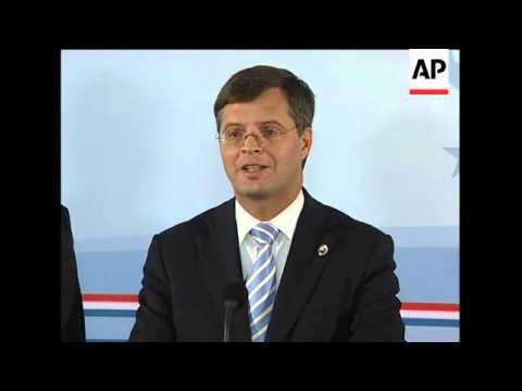 Brown backs Blair; Sarkozy, Balkenende, Juncker comment