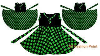 Hoe maak je je eigen kinderen kleding | Baby-kleding | Baby meisjes jurk