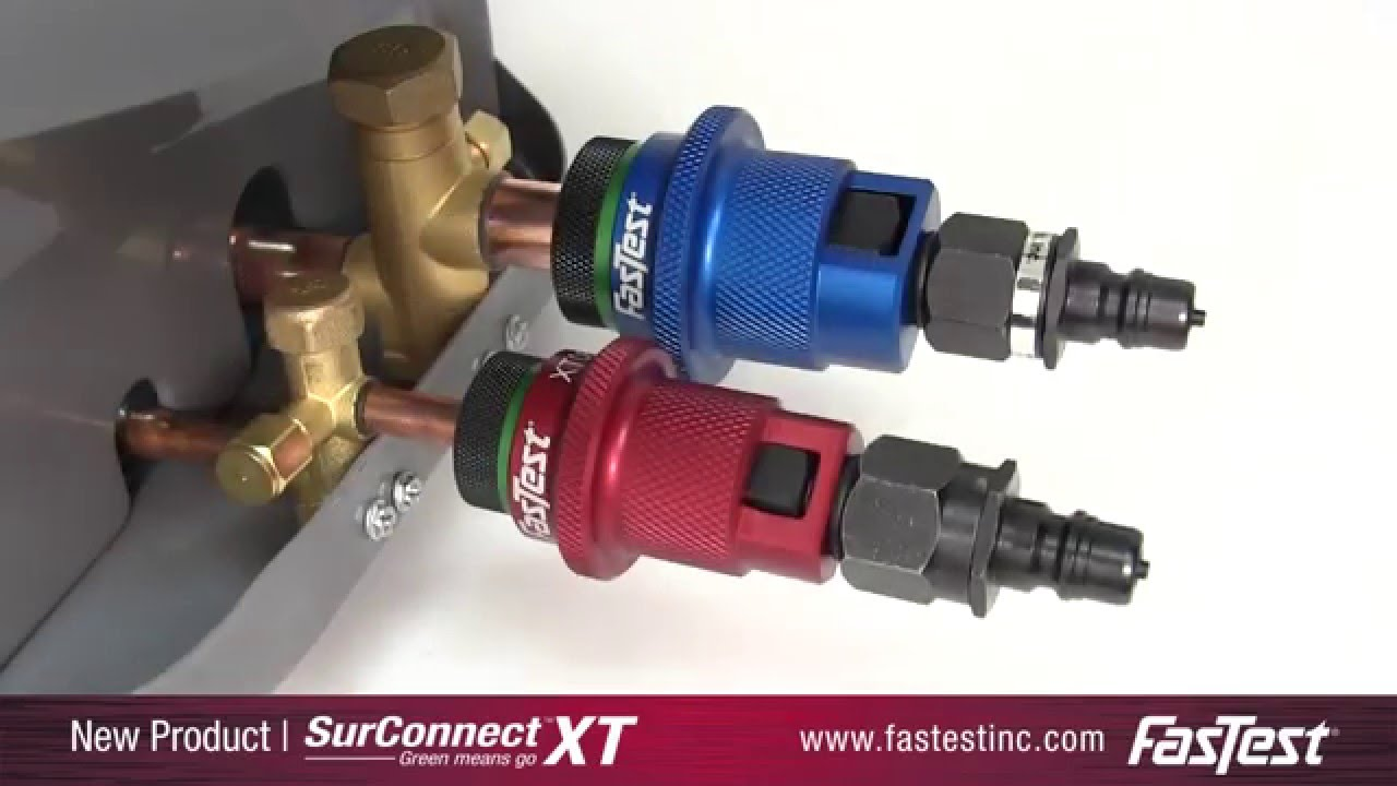 XT with SurConnect™ - HVAC-R Quick Connect - YouTube