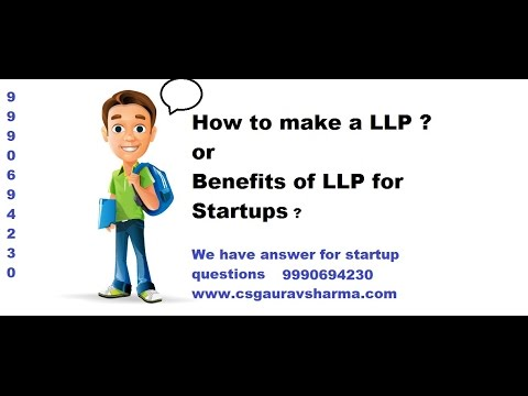 Startup in a Limited Liability Partnership Structure in India