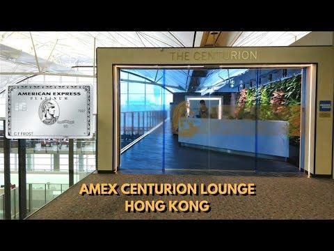 HKG Amex Centurion Lounge: Platinum Edition