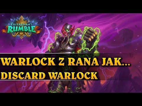 WARLOCK Z RANA JAK... - DISCARD WARLOCK - Hearthstone Decks (Rastakhan's Rumble)
