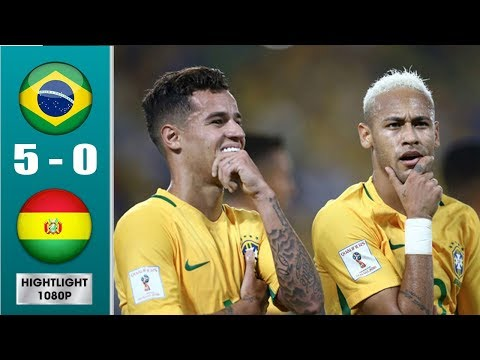 Brazil vs Bolivia 5-0 Highlights & All Goals (Last Match)