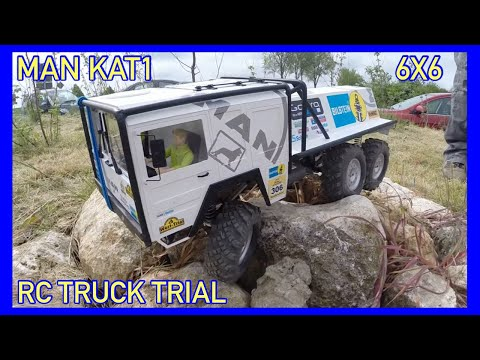 Scale Modell Truck Trial West Deutsche Meisterschaft in Seelbach bei Reiner Rock