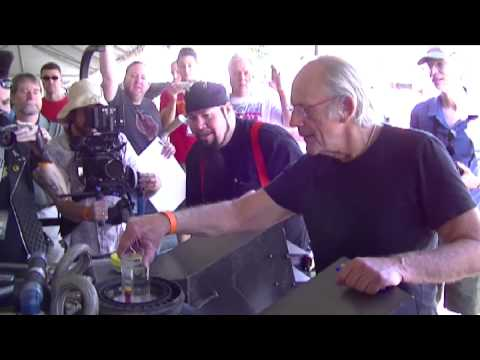 Chrispher Lloyd puts Plutonium into the Reactor of my Delorean Time Machine