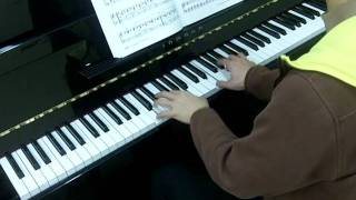 Bastien Piano Basics Level 4 Technic No.9 Pogo Stick Jump (P.9)