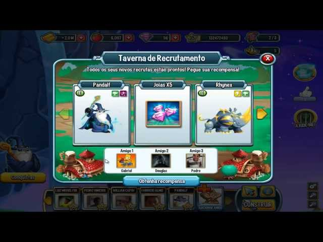 Monster Legends - Taverna de Recrutas Vídeos De Viagens