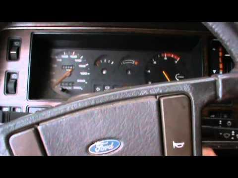 Cold start Ford Granada 2.4 v6