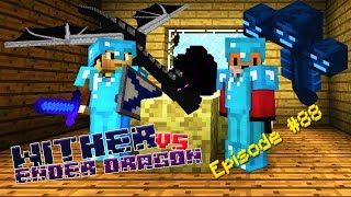 Minecraft - WITHER VS ENDER DRAGON - Foxy's Survival World [88]