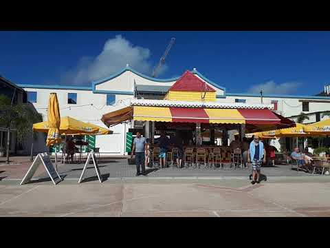 St Maarten Philipsburg Boardwalk 27th Feb 2018 after hurricane Irma St Martin