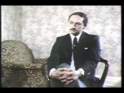 Archival Video - Karl interviews former NSO Conductor, Charles Zachary Bornstein, c. 1983