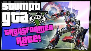 GTA 5 Online - #68 - Transformer Race (GTA V Transformer Race Maps)