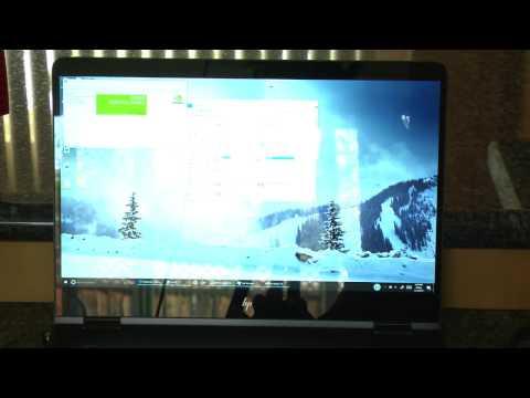 "2017 Spectre x360 15"" display problem jitter & Image tear"
