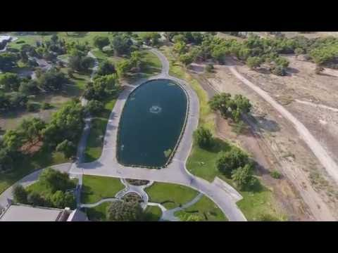 Scientology Gold Base DJI Phantom 4 Flight 1