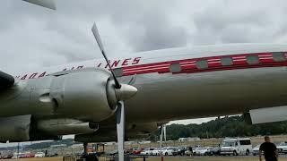 Museum of Flight, Seattle, replica airplanes. Boeing.