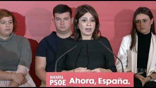 Lastra pide a Casado que se ponga al lado del Gobierno en Cataluña