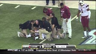 marcus lattimore gets knock the f out