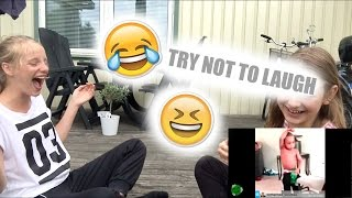 Try not to laugh | YUKI YOKA ft. Emma