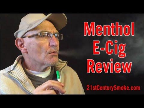 Best Menthol Flavor E Cig Review