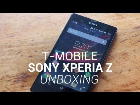 Sony Xperia Z Unboxing (T-Mobile)