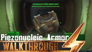 Fallout 4 Unique Armor - Piezonucleic Power Armor Chest - Location Guide